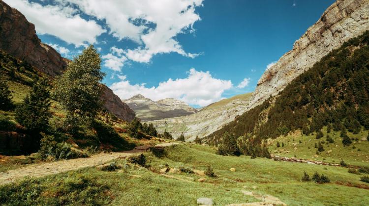 Ordesa valley and monteperdido