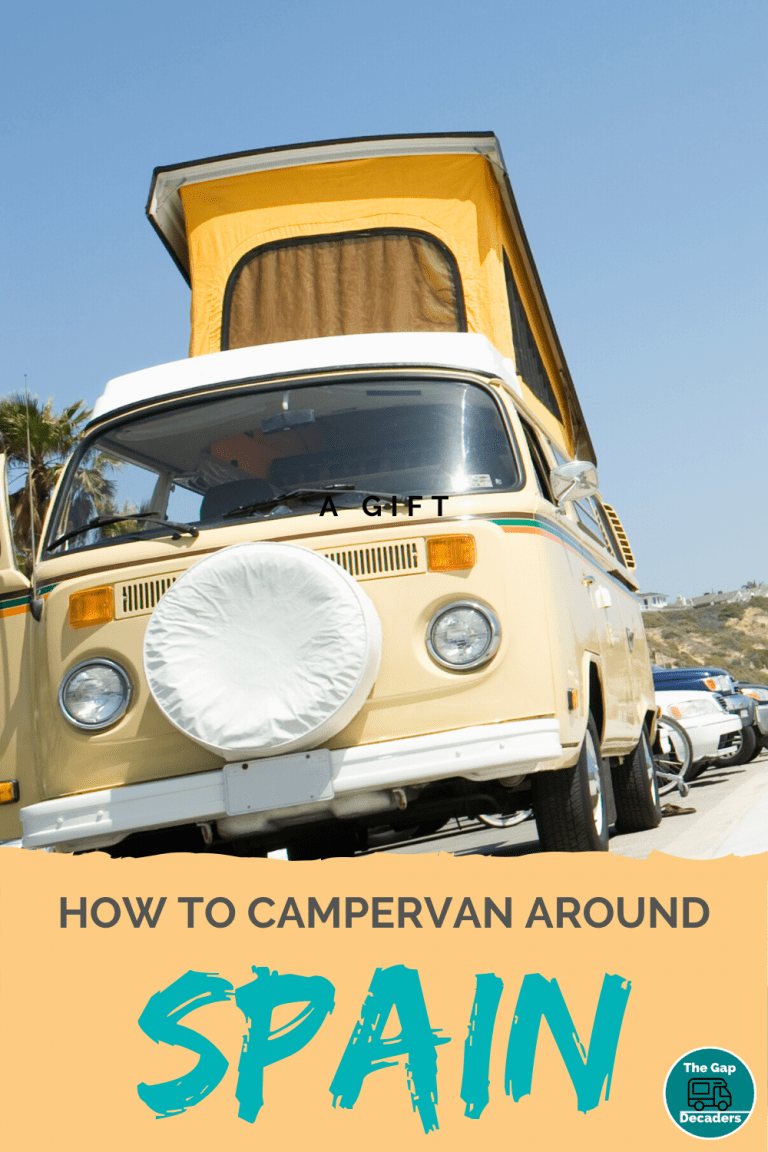 How to campervan around Spain