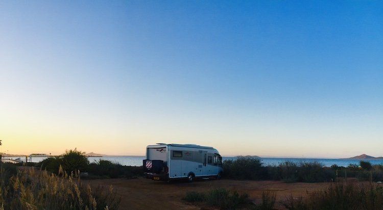 wild camping in Spain