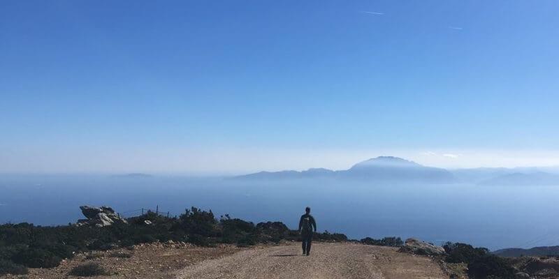 hiking Monte Bujeo, Tarifa