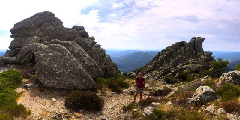 Hiking Sentier des Gardes, Coraux, Hérault