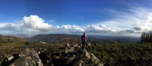 hiking monte de foia, algarve