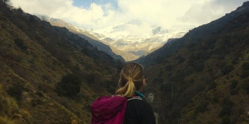 Hiking Poqueira Gorge, Sierra Nevada