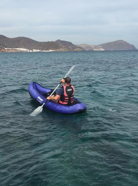 kayaking Cabo de Gata