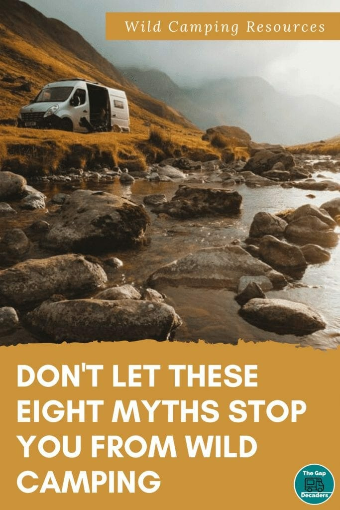 Eight wild camping myths...busted!