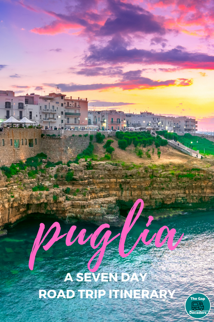 Puglia seven day itinerary