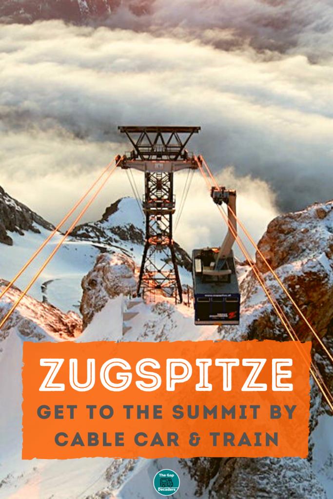 Visit Ziuspitze by cable car