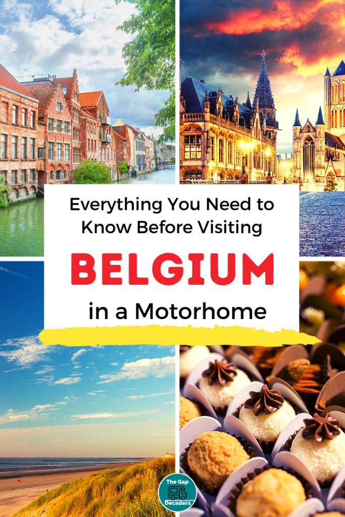 Belgium motorhome travel