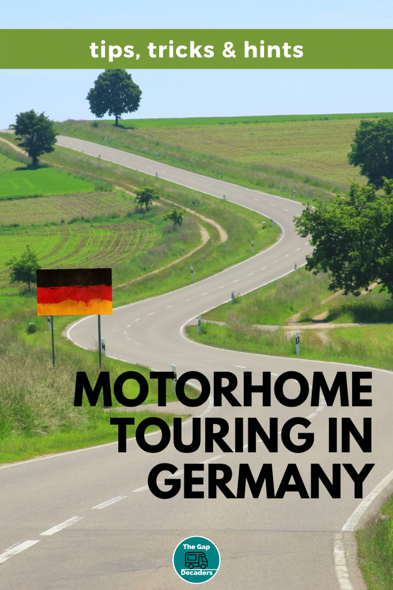 motorhome Germany tips and tricks