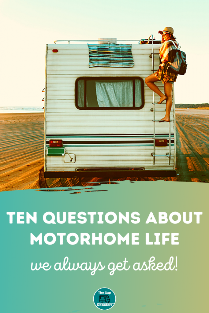 living in a motorhome tips