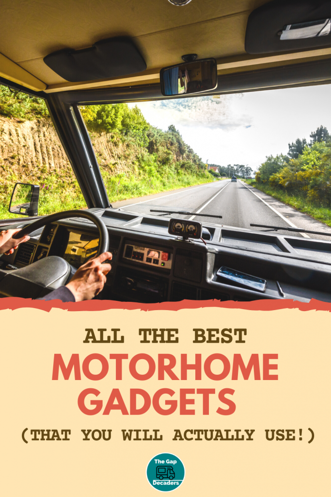 top gadgets for motorhome life