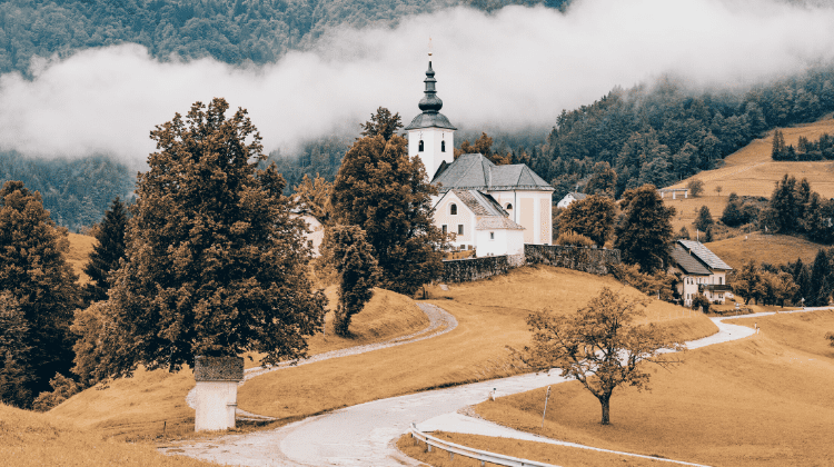 Slovenia, one of the best places to visit in October in Europe
