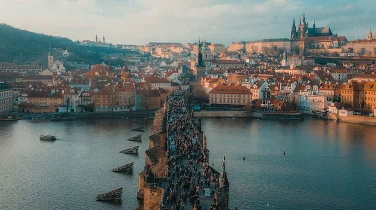 Prague, one of the best places to travel in Europe in October
