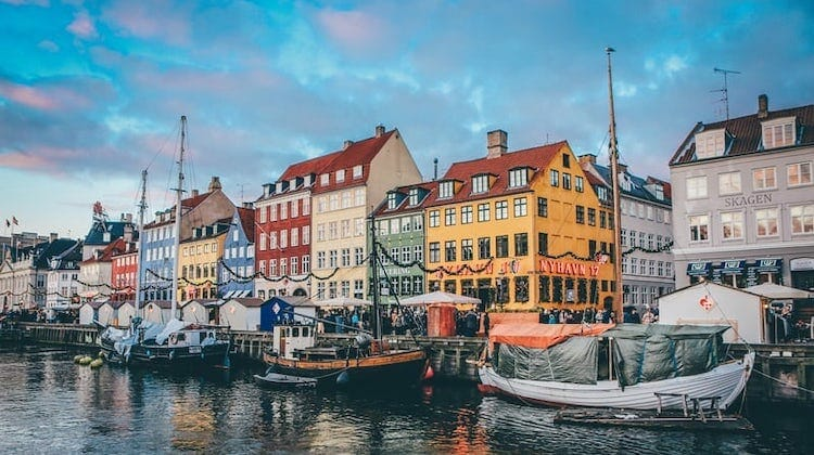 Copenhagen, one of the best places in Europe to visit in October