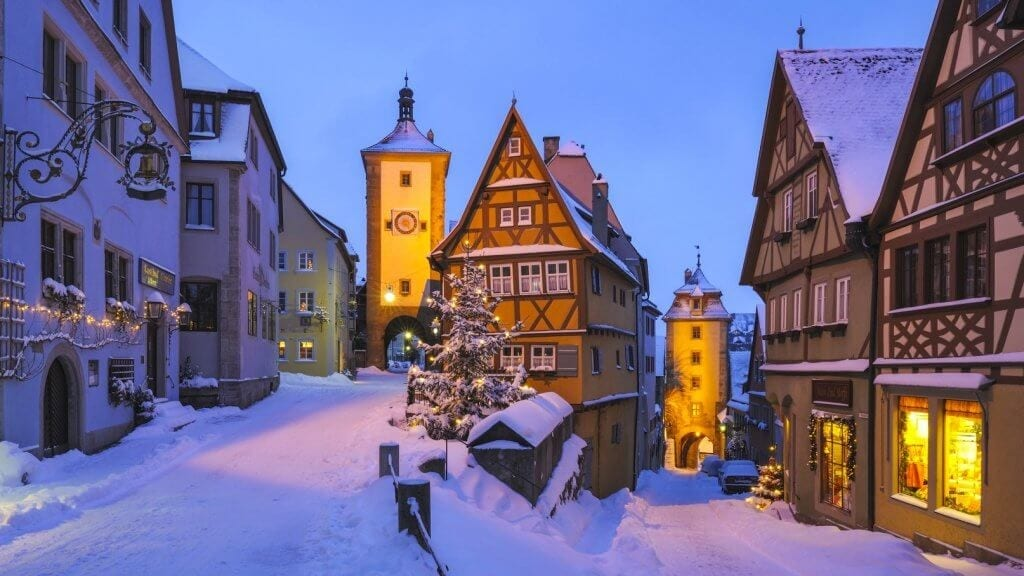 Top Motorhome Winter Destinations