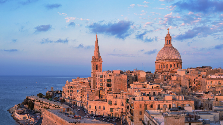 Valletta, one of the best European cities to visit in January