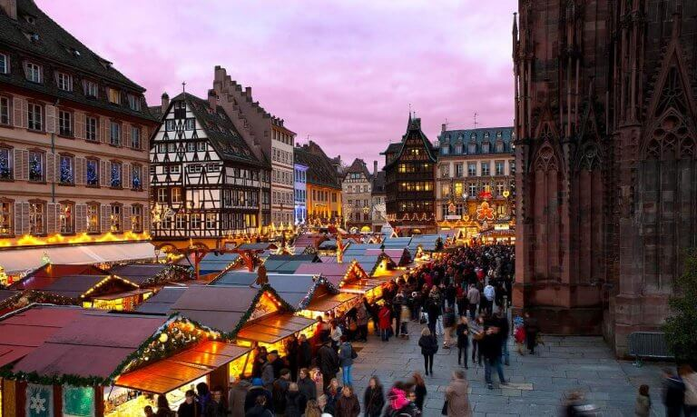 Strasbourg, one of the best French winter holiday destinations