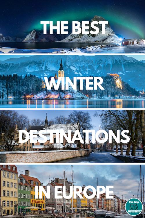 winter holiday destinations Europe