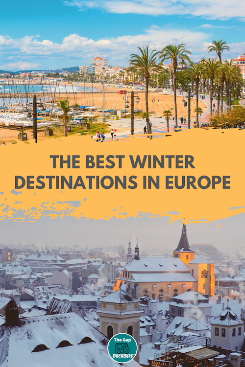 best places to visit in Europe in december/january