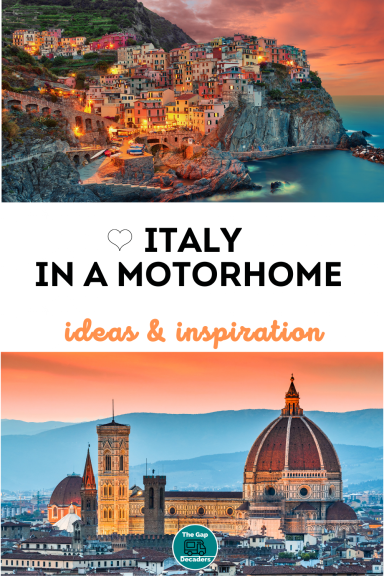 motorhome travel in Italy tips