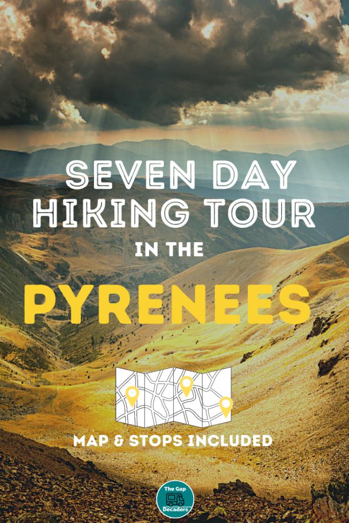 hiking Pyrenees France