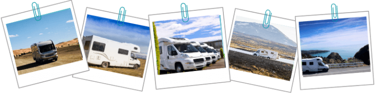 low profile, a class and over cab motorhomes