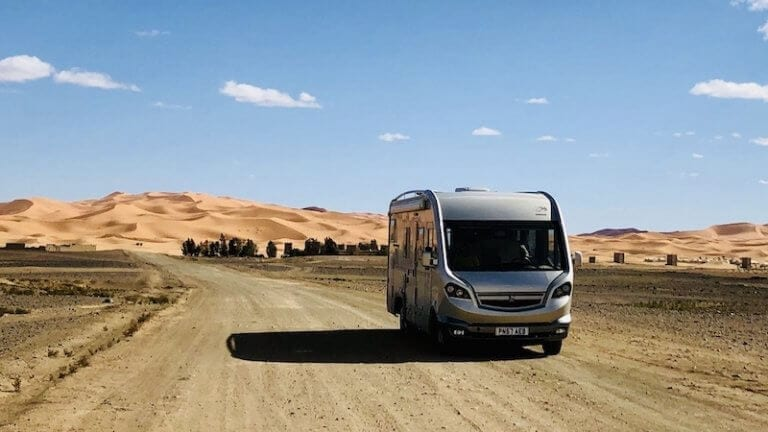Driving a motorhome in Morocco