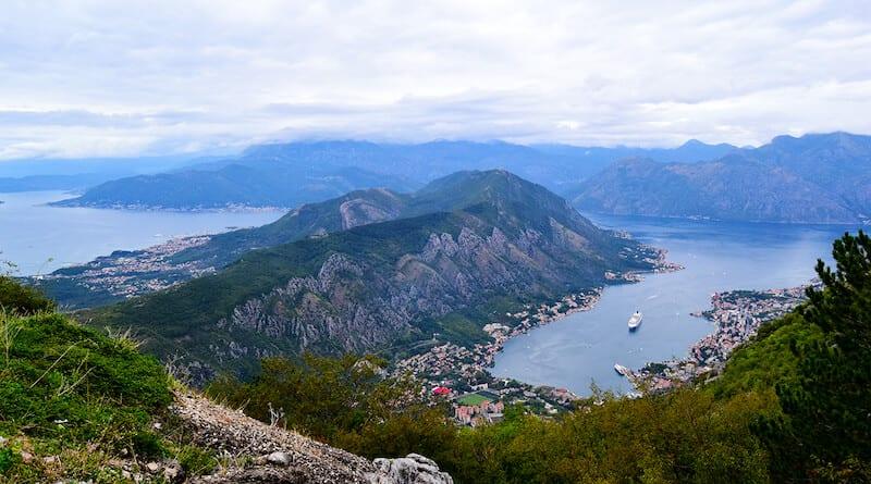 Bay of Kotor view