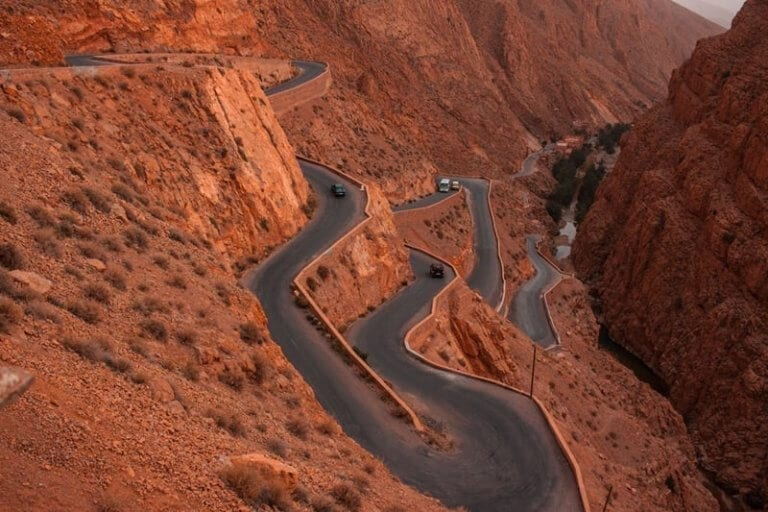 are roads safe to travel in Morocco