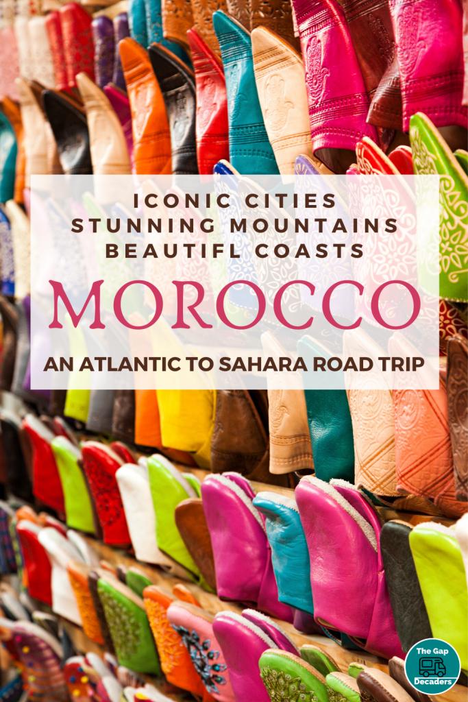 Morocco Atlantic to Sahara Road trip