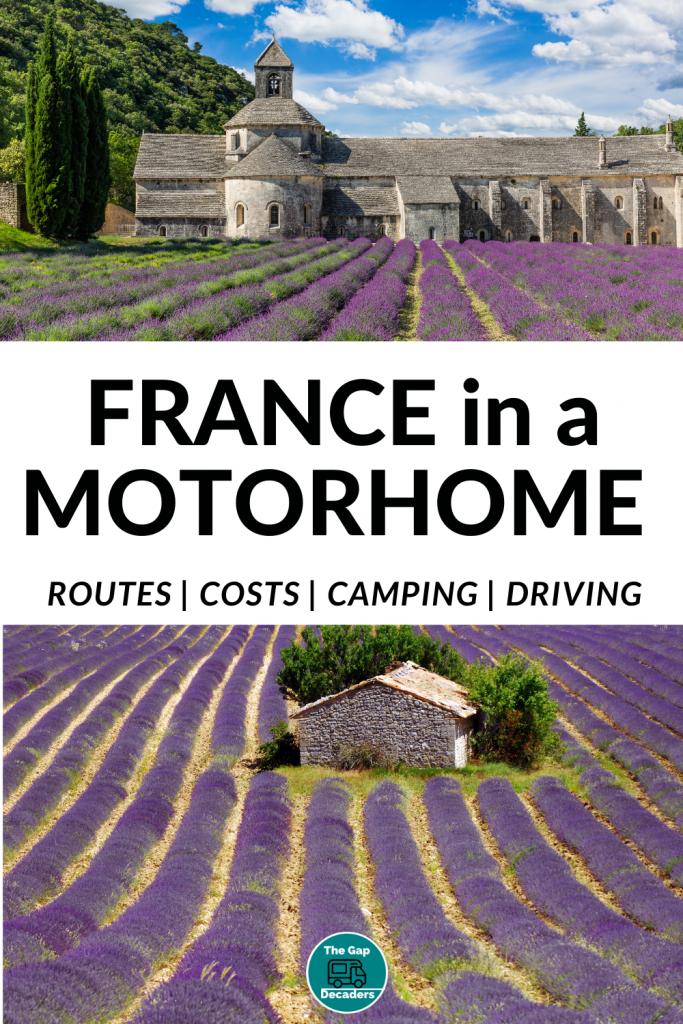 motorhome travel in France