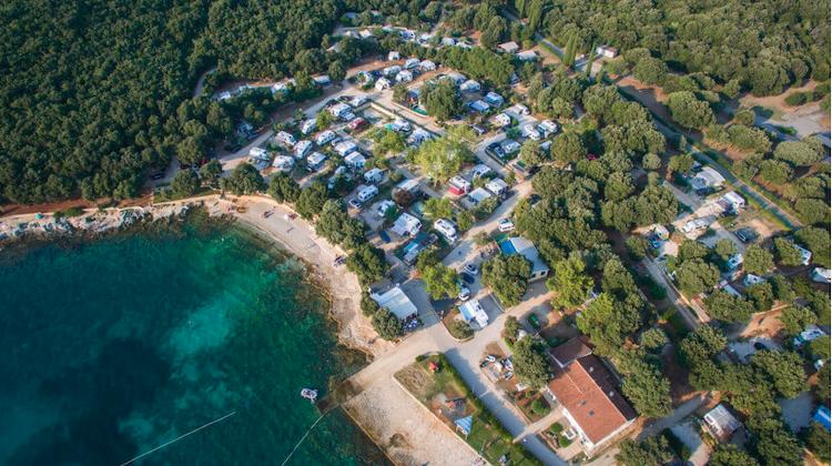 Camping in Istria, Croatia