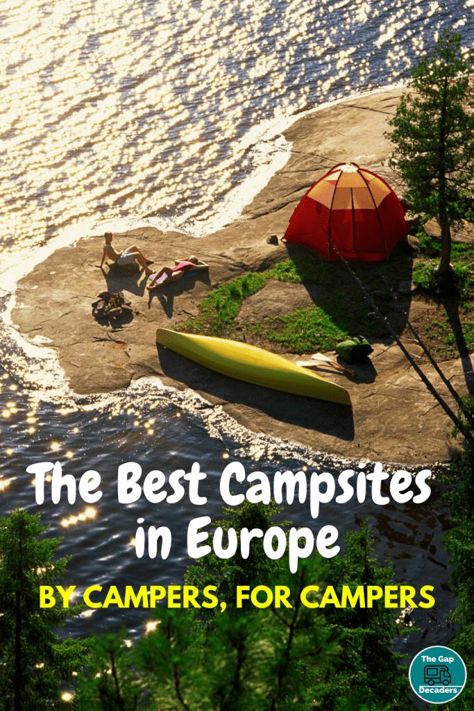 The Best Campsites in Europe