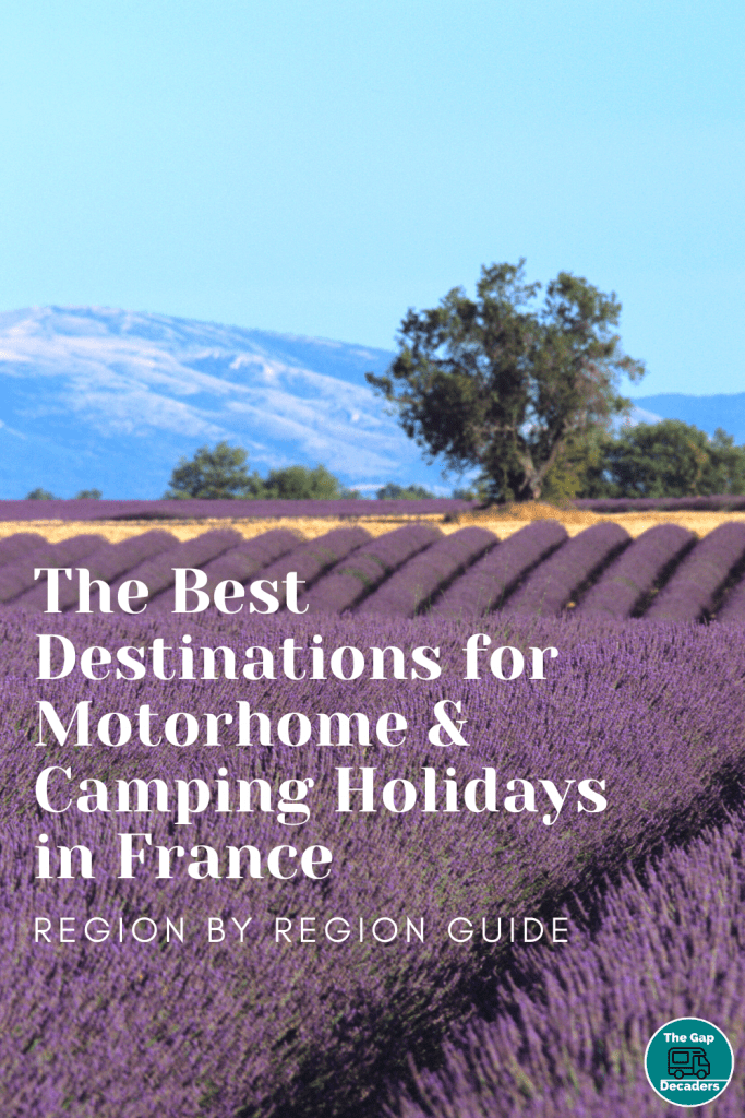 motorhome holidays in France