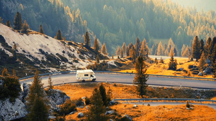 motorhome or caravan