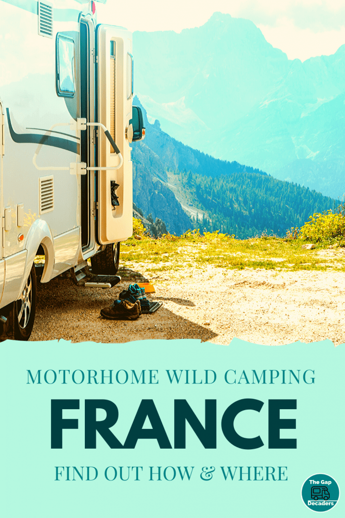 Motorhome Wild Camping in France