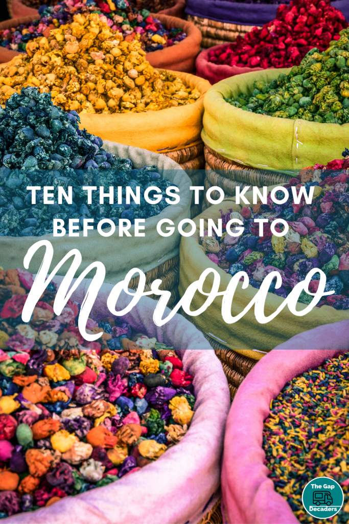 Ten things to know before going to Morocco