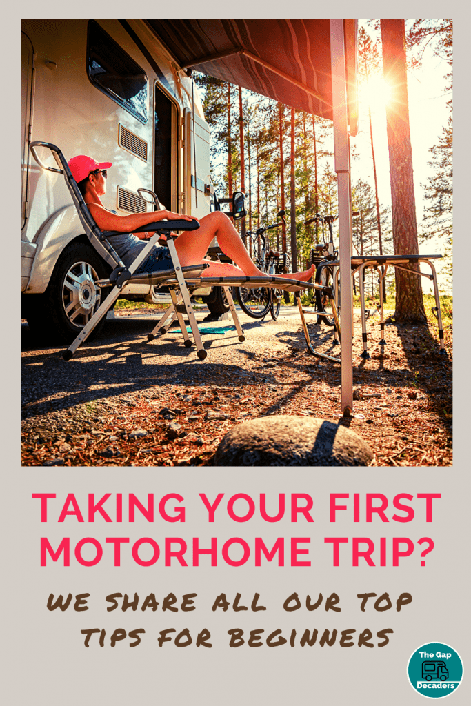 first motorhome trip