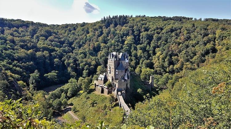Eltz Castle on the Castle Route Germany
