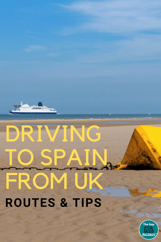 Driving to Spain from UK