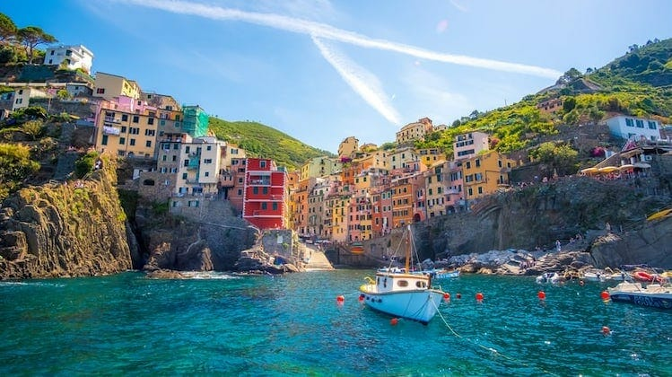 Cinque Terre, all the best Italian road trips stop here