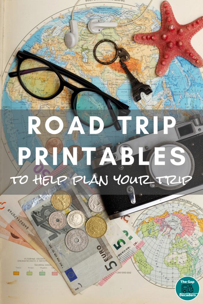 road trip printable