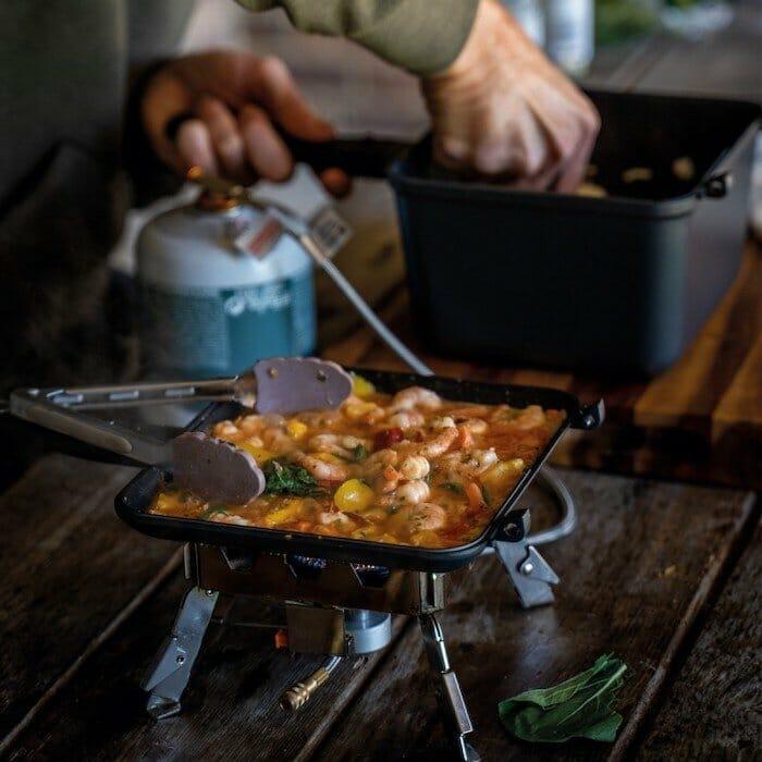 Ridgemonkey, one of the must have campervan kitchen accessories