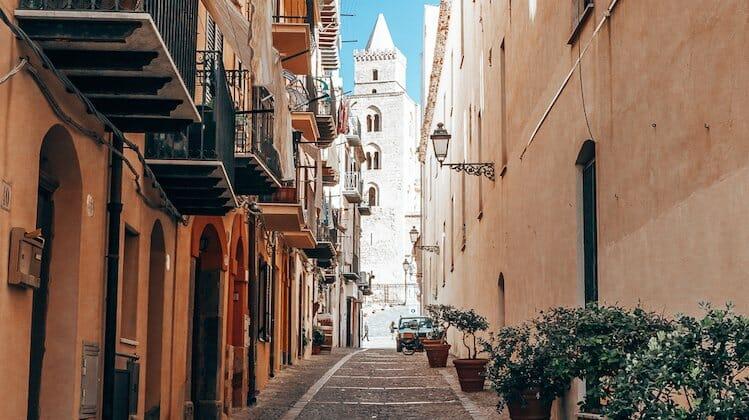 Sicily sun Europe in Winter