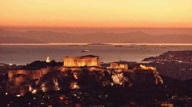 Athens has some of the best weather Europe in winter