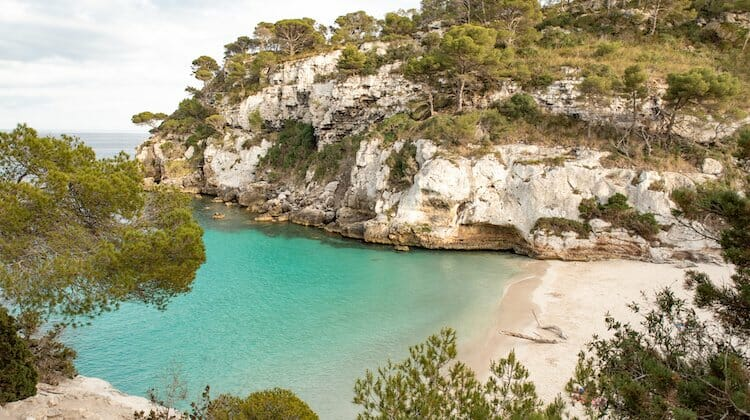 Menorca has some of the best weather in Europe in winter