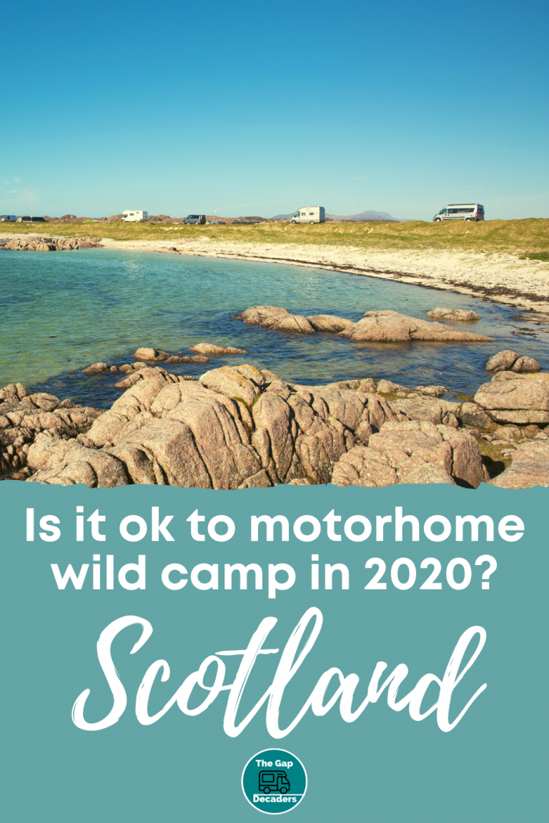 Is It OK to Wild Camp in a Motorhome in Scotland? | The ...