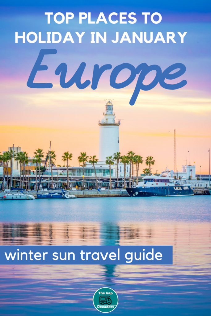 Top Places to Holiday in January in Europe