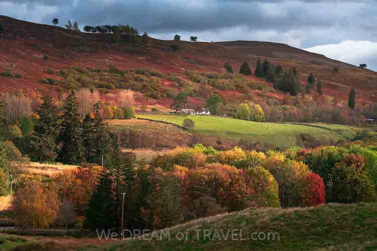 Cairngorms, one of the best places for autumn holidays UK