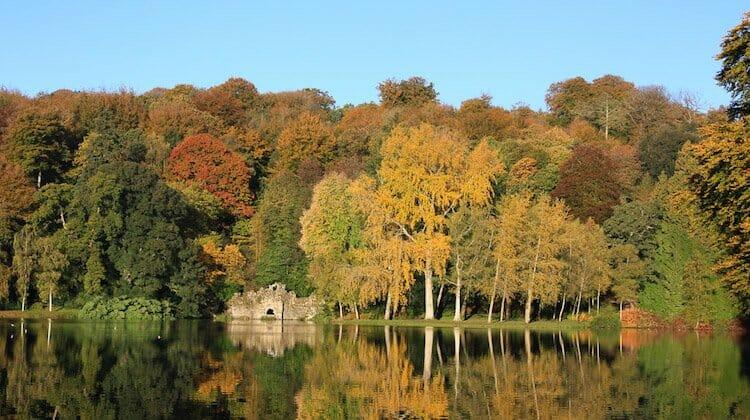 Stourhead, best for romantic autumn getaways UK